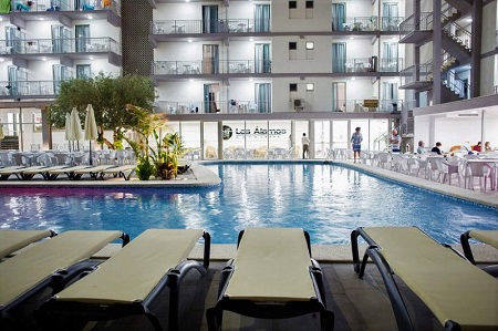 Los Alamos 4 Star Hotel Playa Levante Benidorm Spain