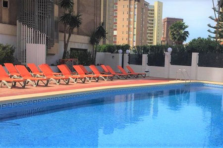 MC Amalia Apartments for Group and Friend holidays in Benidorm Playa Levante.
