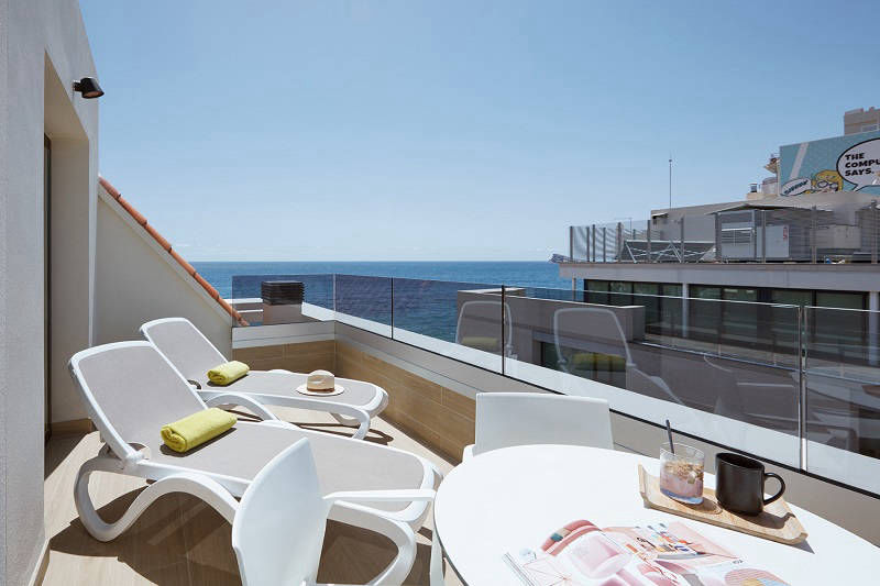 Don Cesar Luxury beach front loft apartment Benidorm.