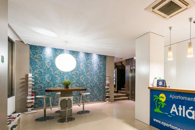Beach apartments Atlantida Benidorm Poniente - lobby