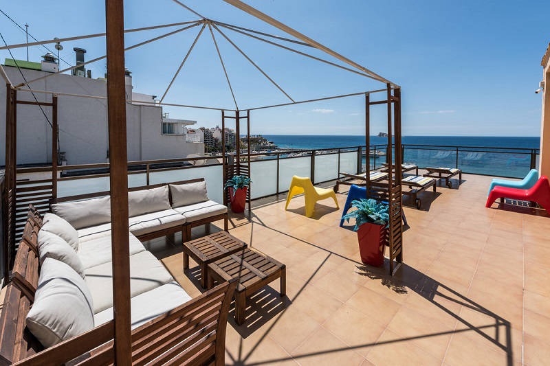 Beach apartments Atlantida Benidorm Poniente - roof top solarium