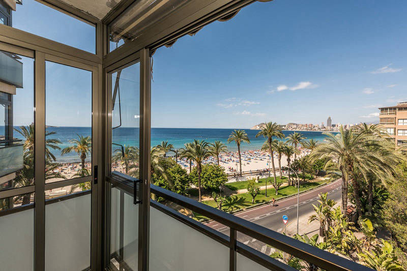 Beach apartments Atlantida Benidorm Poniente - view