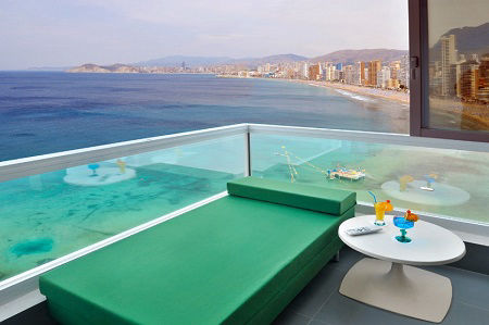 3 Star Benikactus Water Front Hotel in Benidorm Playa Levante