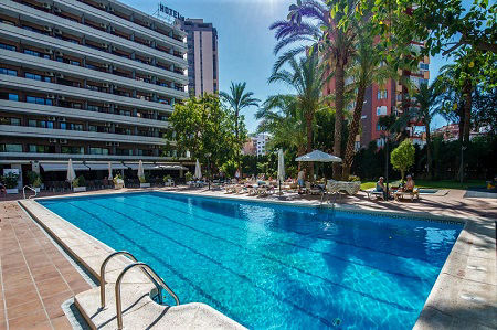 Benilux Park 3 star hotel in the old town of Benidorm