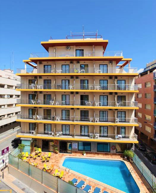 Cheap hotel in benidorm old town