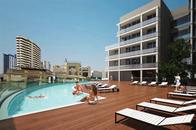 3 Star Hotel Bristol Park Benidorm: New pool and sun deck 2019
