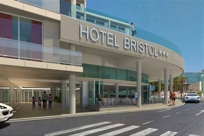 NEW in 2019 the 3 Star (superior) Hotel Bristol Park Benidorm