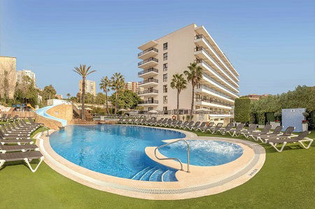 RH Corona del  Mar 4 Star Hotel Benidorm Poniente and old town beach hotel