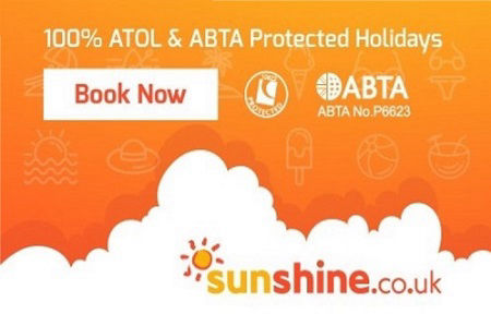 sunshine UK - Build your own holiday. Pick a hotel plus any flight for an ATOL poretected holiday in Spain