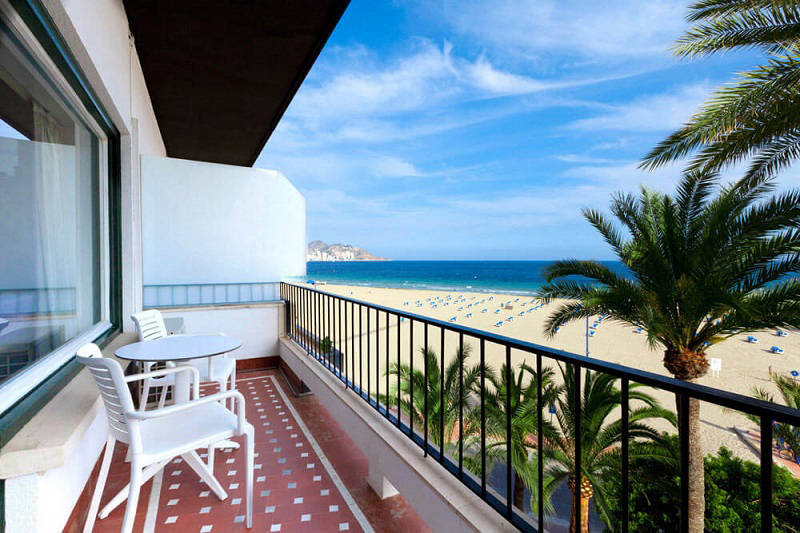 Gran Delfin Hotel Benidorm: Sea view room with balcony