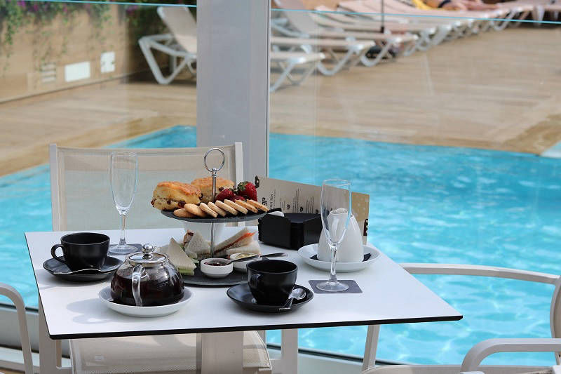 Hotel Don Pancho Traditional English Afternoon Tea in Benidorm