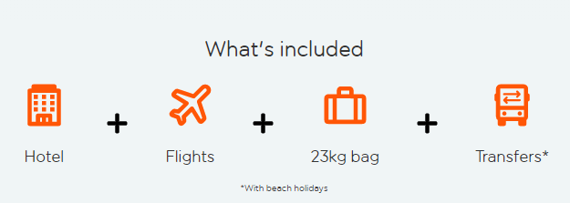 easyJet holidays Benidorm, what´s included?