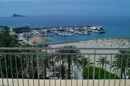 3 Star Hotel Tanit is on the Poniente Playa a traditional small Spanish hotel.