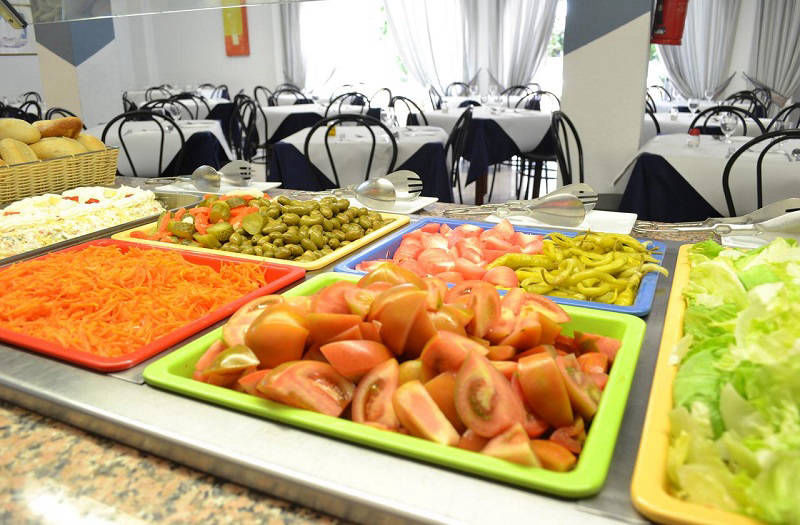 Hotel Internacional Benidorm old town center - buffet