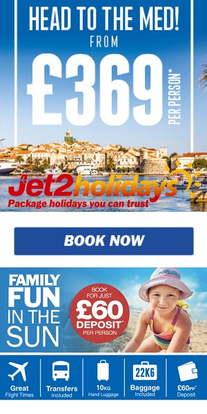 Jet2holidays And Jet2 Flights Book Package Holidays To Benidorm And Alicante Flights