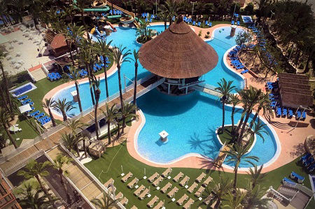 Magic Tropical Splash 3 Star Aparthotel and Water Park La Cala Benidorm