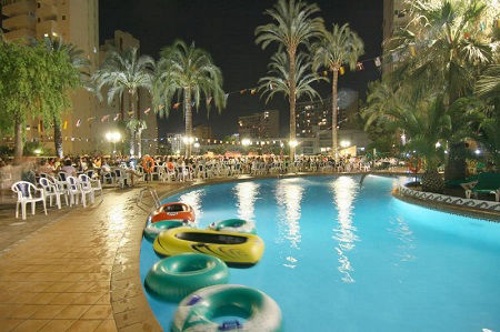 Palm Beach 4 Star Holiday Hotel in Benidorm Spain