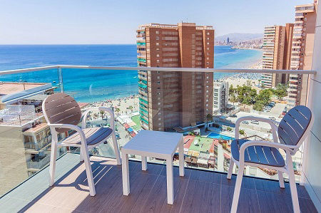 PORT Benidorm luxury hotel in Benidorm Playa Levante