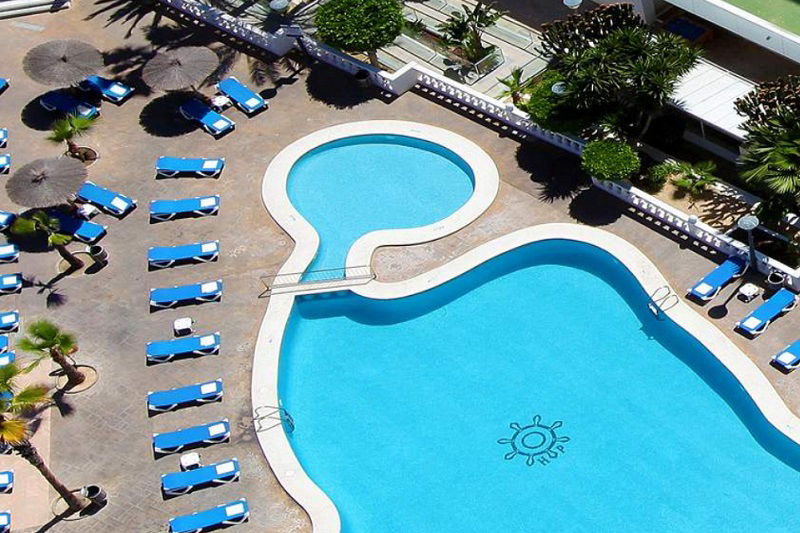 3 Star All Inclusive Poseiden Resort Hotel Benidorm