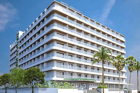 Brand new hotel in Benidorm, the 4 Star superior Presidente opened in 2018