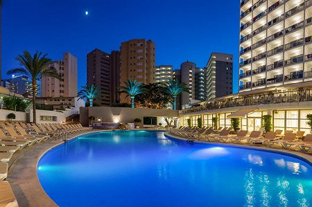 4 Star RH Hotel Princesa is a family hotel in Benidorm Playa Levante for All Inclusive holidays