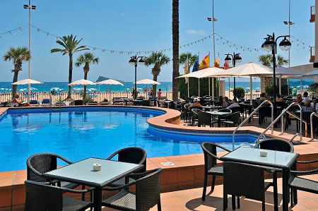 Sol Costablanca Beach Front 4 Star Adult Only Hotel Benidorm