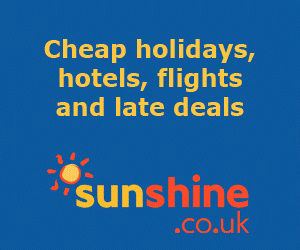 sunshine (UK) are usually cheapest for gay holidays in Benidorm (ATOL protected).