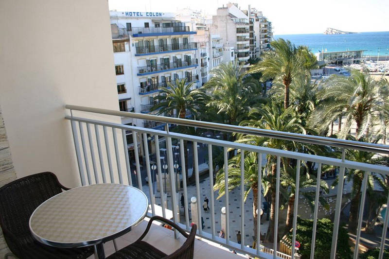 Tanit Beach Hotel Benidorm - sea view room