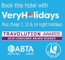 VeryHolidays Benidorm hotels and cheap holidays