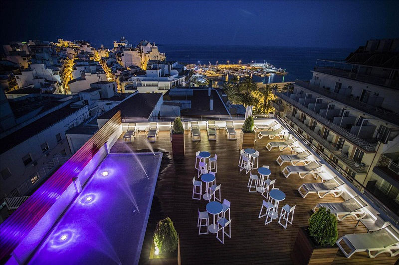 3 Star All Inclusive Hotel Voramar Benidorm Old Town, Poniente.