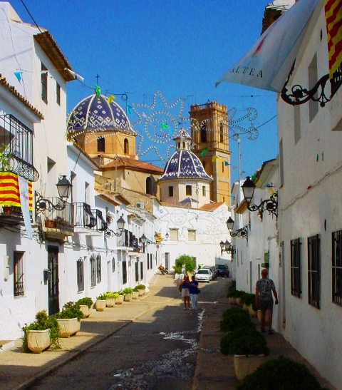 Property Rentals Holiday Lets Altea Antique Cottage Old Town
