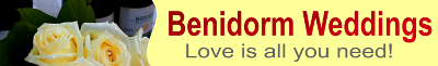 Benidorm Weddings - Religious and non-faith Celebrant for all inclusive ceremonies for residents and non-residents in Spain. Benidorm Celebrations Wedding Planners.