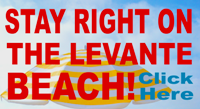 Levante Beach Hotels - Stay right on the beach