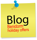 Find the latest sales, deals and holiday news in the  blog - Benidorm Holiday, Hotel and Tranfers Offers and updates.