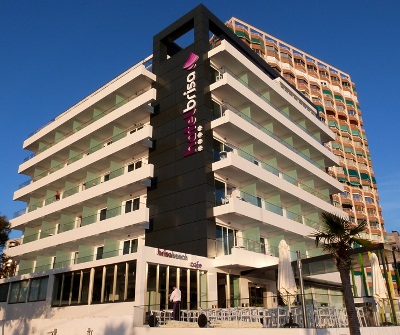 Brisa Hotel on the beach in Benidorm