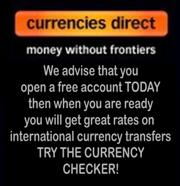 International Currency transfers to Spain - One off and regular money transfers at excellent rates - open a free account today - Try the exchange rate checker