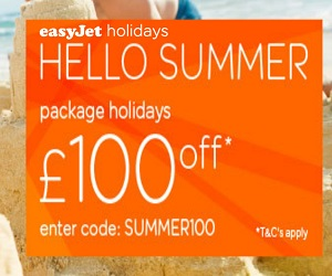 easyJet holidays in Benidorm offers and late deals