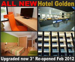 The Hotel Golden is a good choice for an old town hotel close to the beach