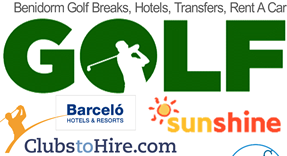 Golf Breaks in Benidorm, Golf Transfers, Minibus rental and Golf Hotels
