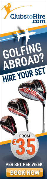 Hire Golf Clubs at Alicante Airport and Murcia Airport