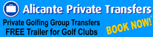 Golfing Group Transfers and Transport to Golf Courses for Golfing Holidays