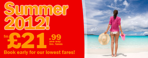 Jet2 Flights ot Alicante for Summer 2012 from only �21.99 one way